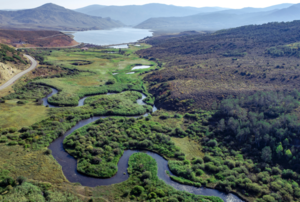 Aerial of river s300