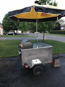 Hot dog cart s300