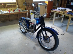 29 completed motercycle s300