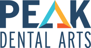 Logo peak dental arts s300