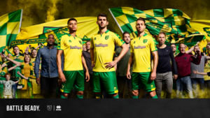 Ncfc current home signed shirt  s300