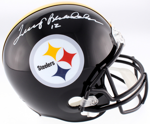 Main 1524258440 terry bradshaw signed steelers full size helmet jsa coa pristineauction.com s300
