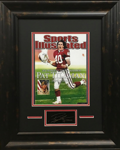 Main 1527715603 pat tillman sports illustrated 165x205 custom framed photo display pristineauction.com s300