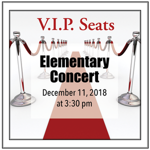 Vipseats concerts elementary s300