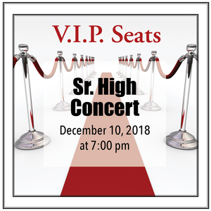 Vipseats concerts srhigh s300