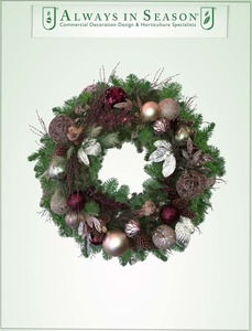 Holiday wreaths s300