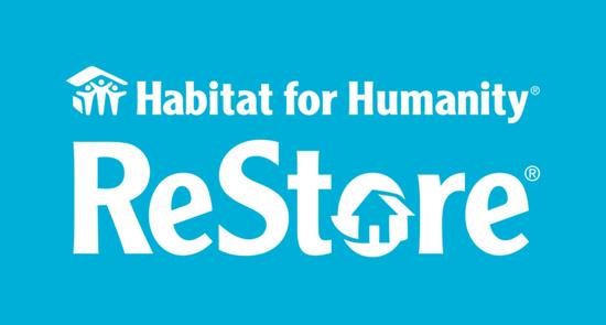Habitat restore logo white text blue background  1  s550