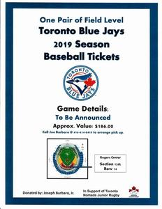 Blue jays tickets 2019 s300