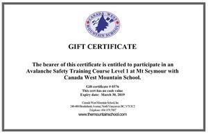 Thumbnail gift certificate376 trek s300