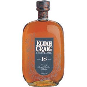 Elijah craig 18 year old single barrel s300