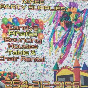 Maee party supplies s300