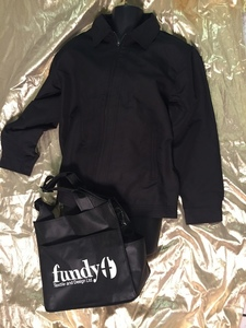 Fundy textile jacket and bag s300