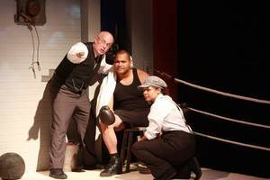 Alderney landing theatre show s300