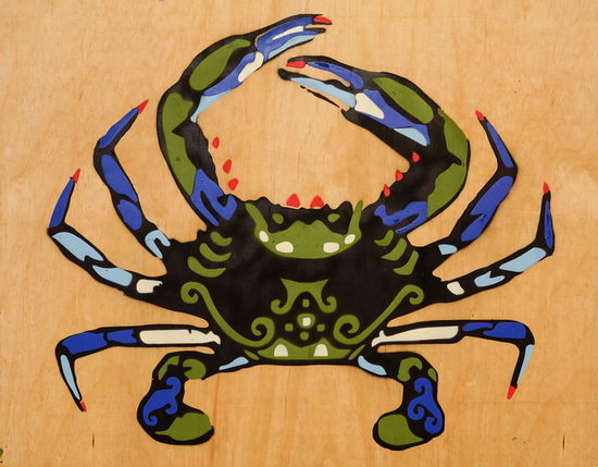 Blue crab jennifer thompson s550