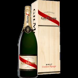 Jeroboam 3l champagne mumm cordon rouge s300