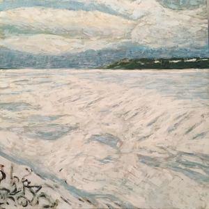 Andrew harwood ice floe  colpoy s bay s300