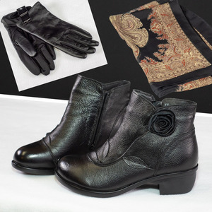 Zzz boots scarf gloves s300