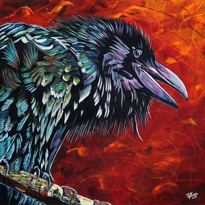 My talkative raven friend e s300