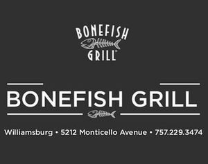 My bonefish ad s550 for restaurant only s300
