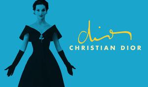 Christian dior blue dress logo s300