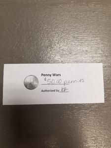 Penny ticket s300