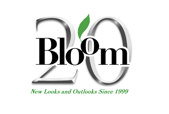 Bloom 20th anniversary logo theano copy s550
