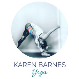 Karen barnes yoga logo 2 s300