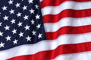 Nylon american flag closeup s300
