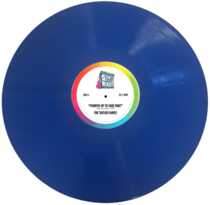 Blue 12inch withlabel s300