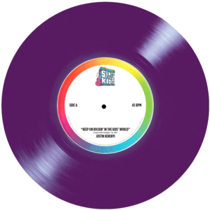 Purple 7inch withlabel s300
