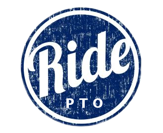 Ride logo distressed with pto s550