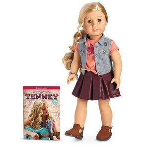 Dvm11 tenney doll and book 1 s300