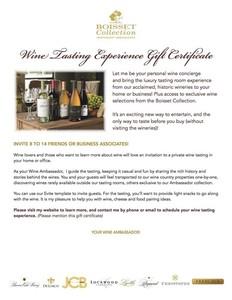 Jcb gift certificate s300