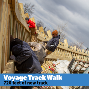 Voyage track walk s300