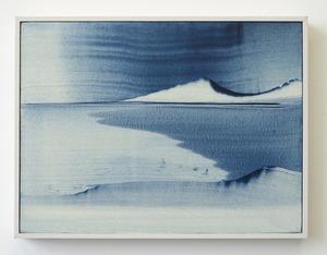 Eva ullrich    ocean bay    acrylic on canvas   auction piece 2019 s300