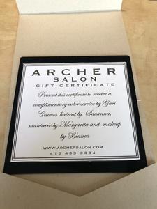 Archer salon spa package s300