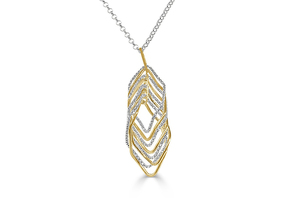 Frederic duclos vortex necklace s300