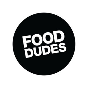 Food dudes logo   black ring s300