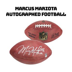 Marcus mariota autographed football s300
