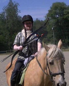 Grene wode archery horse s300