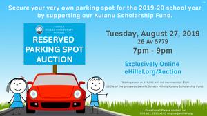 2019 parking spot auction s300