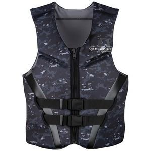 Ronix covert cga wakeboard vest 2019 black white digi camo s300