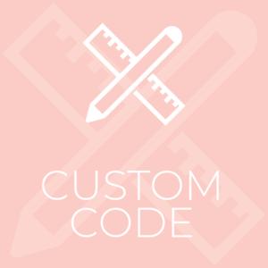 Custom code s300