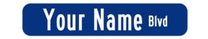 Hallway sign s300