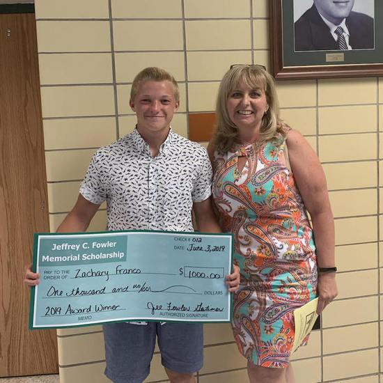 Zach franco 2019 scholarship winner s550