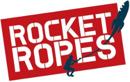 Rocket ropes logo tight colour s300