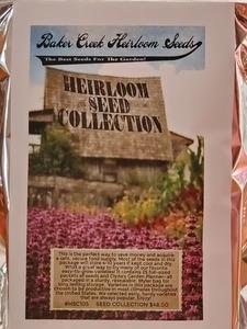 Baker creek heirloom seeds s300