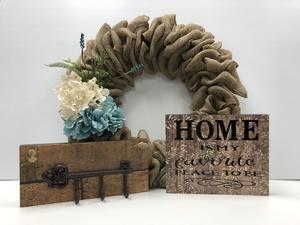 Wreath and decor s300