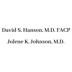 David s. hanson  m.d. facp jolene k. johnson  m.d. s300