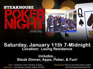 Steakhouse poker night s300